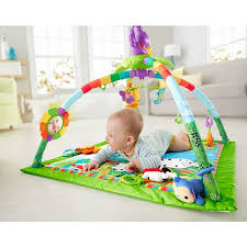fisher price rainforest music and lights deluxe gym playset rainforest music lights deluxe gym dfp08 fisher price