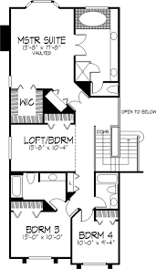 house plans one level floor plan aflfpw12035 1 story home 2 baths