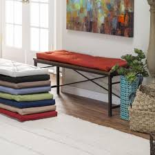 Ikea Bench Cushions Home Decoration Fascinating Tufted Indoor Bench Cushion Color