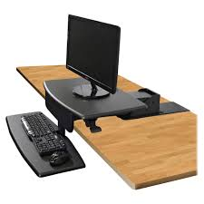 Stand Sit Desk by Sts800 Desk Mounted Sit To Stand Workstation