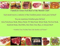 beef of the month farmeats grass fed beef of the month club farmeats
