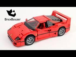lego f40 lego creator 10248 f40 lego speed build