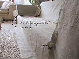 sofa slipcover diy simplylinen linen slipcovered couch tutorial