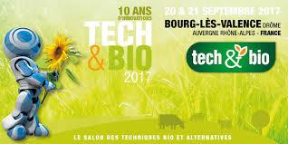chambre agriculture drome 20 et 21 septembre tech bio 2017 salon des techniques bio et