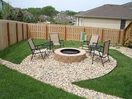 innovation of cheap small yard landscaping ideas home designs rock