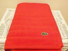 Lacoste Bathroom Set Lacoste Towel Ebay