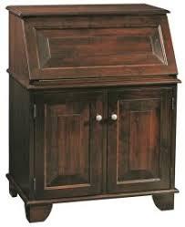 solid wood secretary desks countryside amish furniture