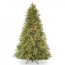 5ft pre lit fir feel real artificial tree