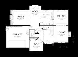 House Plans With Media Room Mascord House Plan 2278 The Bienville