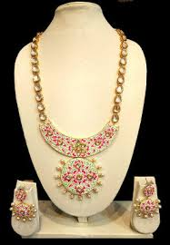 long necklace set images Pearl jewelry online buy peary jewelry sets in latest designs jpg
