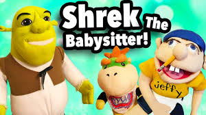 sml short shrek babysitter