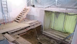 treppen einschalen treppe neubau gemeindezentrum feg simmern