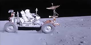 nasa shows how apollo 16 astronauts drive on the moon