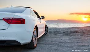sunset audi audi sunset and641 flickr