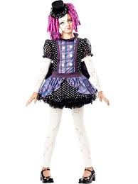 halloween doll costumes adults broken doll costume girls gothic halloween costumes