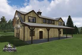 oakridge apartment barn kit 48 u0027 dc structures barns
