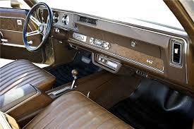 Saddle Interior 1970 Oldsmobile 442 Convertible 96850