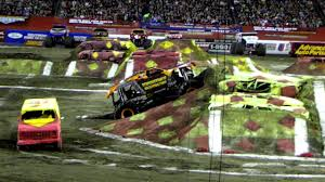 monster truck jam 2013 monster jam 2013 tampa max d backflip youtube