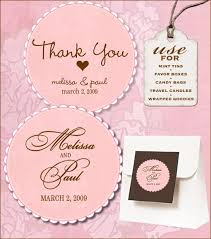 Labels For Wedding Favors Free Templates free labels from vs design print templates wedding