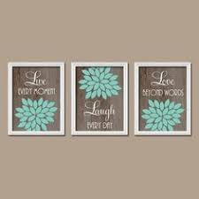 Turquoise Wall Decor This Gorgeous Chic And Classy Wall Art Value Pack Features Six