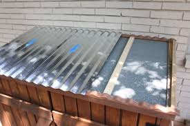 Corrugated Asphalt Roofing Panels by Galvanized Tin Roof The Cavender Diary