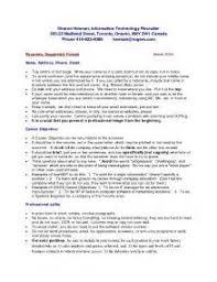 resume canadian format resume resume templates canada free sample