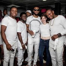 all white party party here photos from flavour s all white cruise album