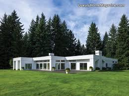 stunning one level estate luxury homes modern architecture