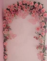 Diy Girls Bedroom Mirror Little Girls Bedroom Rose Butterfly Arch Shabby Chic Whimsical