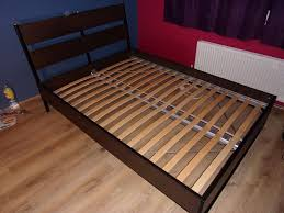 Slatted Bed Frames Ikea Bed Frame Trysil With Luroy Slatted Bed Base