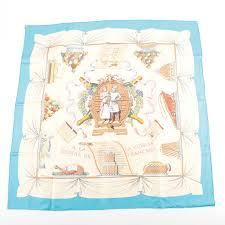 a la cuisine hermès a la gloire de la cuisine française silk scarf ebth