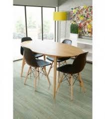 Solid Oak Dining Room Furniture Oval Oak Dining Table Foter