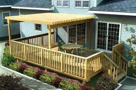 home deck plans mobile home covered deck plans wooden home