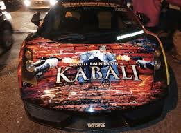 cars movie lamborghini rajinikanth u0027s kabali themed cars are all the rage right now