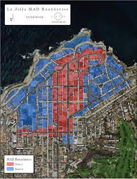Bluebird Map The District Enhance La Jolla