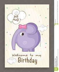 Best Invitation Card Design Template Classic Birthday Invitation Card Baby With Speach