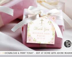 christening party favors baptism favors etsy