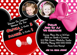 mickey mouse blank invitations free printable invitation design