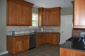recycled countertops natural cherry kitchen cabinets lighting