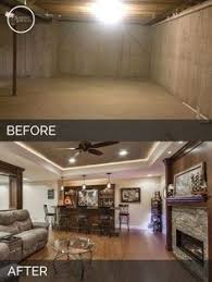 before u0026 after one really cool basement remodeling project