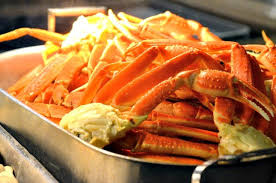 Buffet With Crab Legs by Cape May Cafe Seafood Dinner At Beach Club Our American Travels