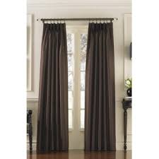 Curtains 95 Inches Length Pinch Pleated Drapes U0026 Curtains Wayfair