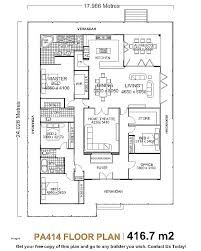 five bedroom home plans 4 bedroom home plans lkc1