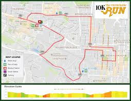 Map Of Raleigh Nc City Of Oaks Marathon