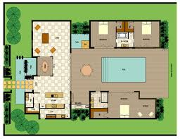 villa plans pdf version bedroom villa plan house plans 44627