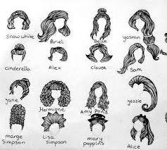 Disney Princess Hairstyles 74 Best Drawing Images On Pinterest Drawings Disney Cruise Plan
