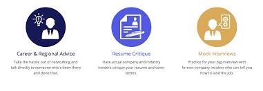Resume Critique Online by Cems Alumni Association Online Mentoring Gamp