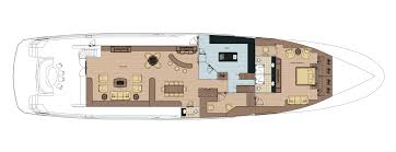 Yacht Floor Plan by Bering 130 Steel Expedition Yacht Bering Yachts