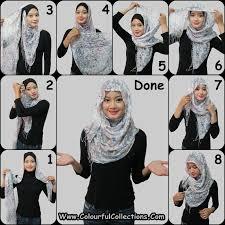 tutorial jilbab remaja yang simple trend hijab remaja terbaru artikel jilbab