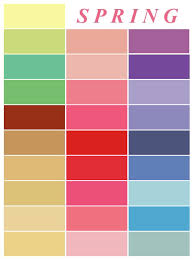 Home Decor Colours Spring Color Palette Inspiration For And Home Decor